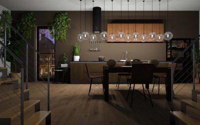 Co powinieneś zrobić, aby dobrze oświetlić długi stół w jadalni?